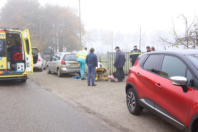 Een voorbijganger trof een man aan in een plasje bloed aan de Buizerd in Reusel