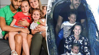 """Plopsaland gaat deze week enkele uren open voor doodzieke papa (32): """"Nog één keer de lachende gezichtjes van mijn dochters zien"""""""