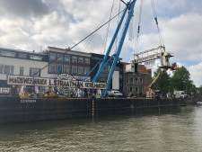 Dordrecht neemt tijdelijk afscheid van Straatmandok