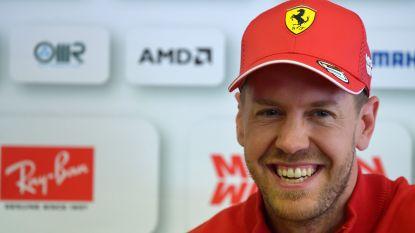 Vettel op poleposition