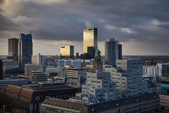 Hoogbouw in Rotterdam.