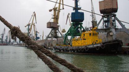 Rusland geeft Oekraïense havens in Zee van Azov gedeeltelijk vrij