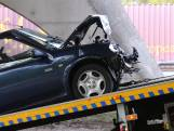 Vijf auto's op elkaar gebotst op de A58