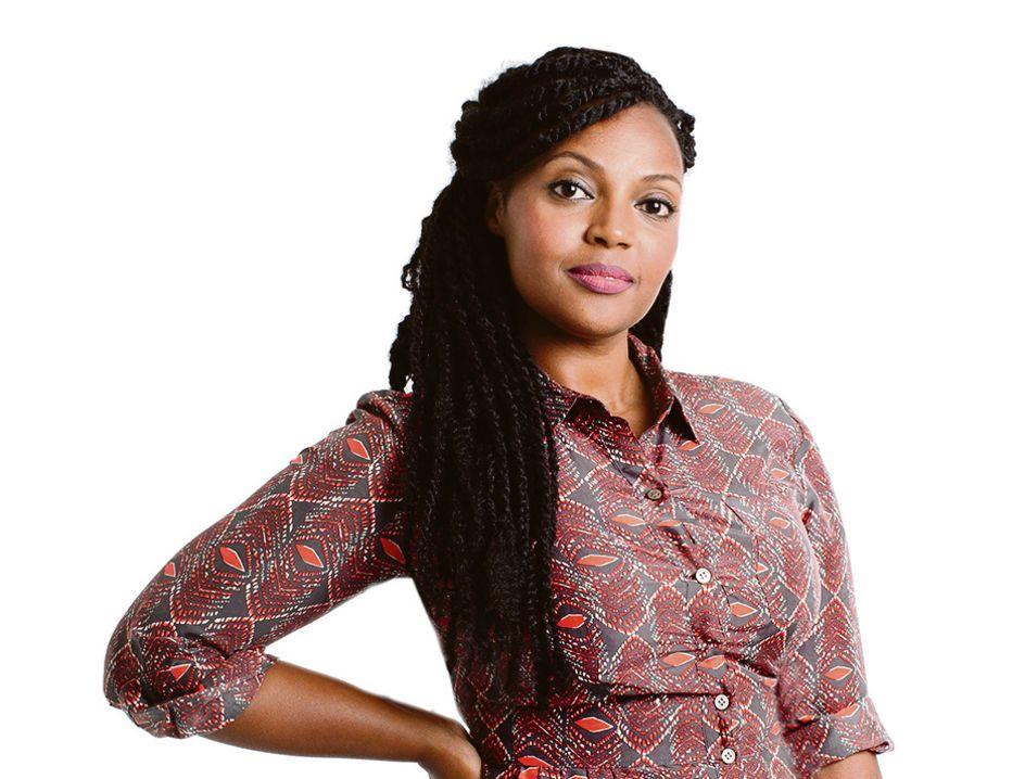 Enorme zwarte vrouw