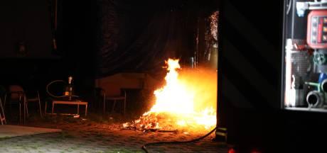 Tieners veroorzaken brand bij leegstaand pand in Kaatsheuvel