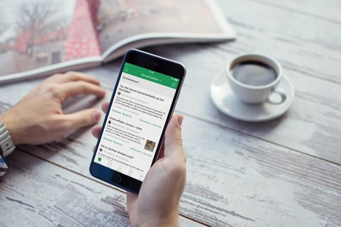 De app Nextdoor is bedoeld als platform voor buurtbewoners. Zij kunnen oproepjes plaatsen over te verkopen spullen, vermiste huisdieren of onraad in de wijk.