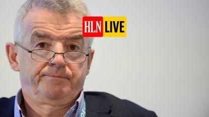 HLN LIVE. Ryanair-topman O'Leary levert helft van loon in