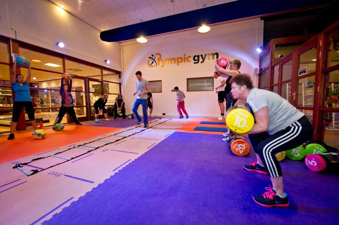 Archieffoto van een FunXtion Workout bij Olympic Gym. De sportschool is na het faillissement al een half jaar dicht en volgens de curator is 70 procent van de inboedel gestolen.
