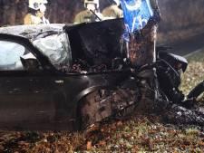 Automobilist gewond door botsing tegen boom in Boxtel