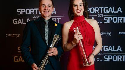 Evenepoel jongste Sportman van het Jaar ooit, Derwael opnieuw Sportvrouw van het Jaar