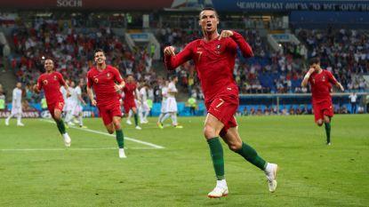 Ronaldo temt Spanje in zijn eentje