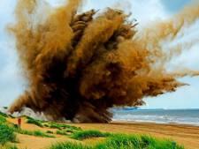 Mogelijk explosieven gevonden in Hoek van Holland