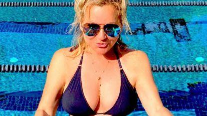 "Tatjana 'Kees Flodder' Simic slaat terug met 33yearchallenge: ""Wees blij dat je ouder mag worden"""
