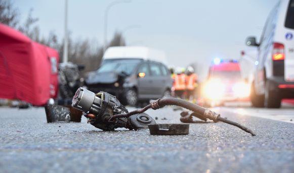 Zwaar verkeersongeval in Lendelede.