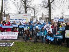 Actiegroepen tegen extra gaswinning roeren zich bij landelijke manifestatie