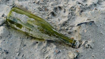 Vandalen gooien flessen stuk op geparkeerde auto's
