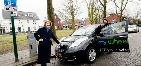 Eerste elektrische deelauto in Wijk bij Duurstede
