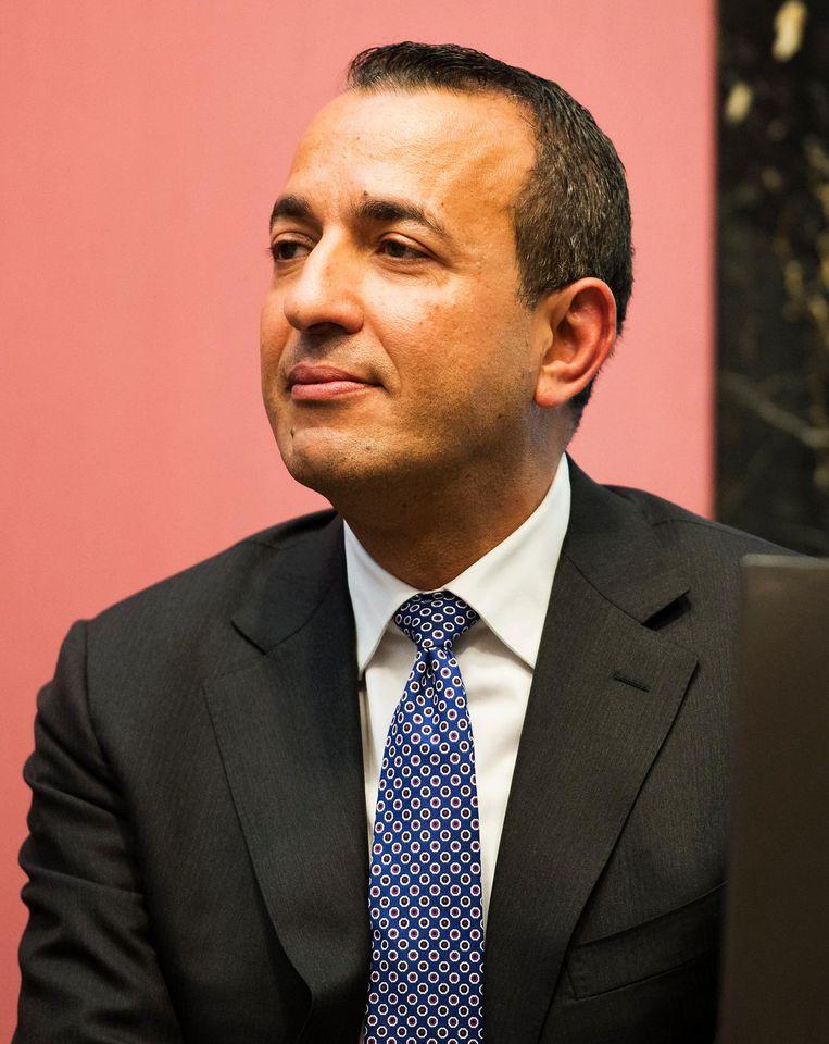 Abdeluheb Choho. De directeur van Vluchtelingenwerk Nederland vindt grote hallen 'geen fatsoenlijke opvang'. Beeld ANP