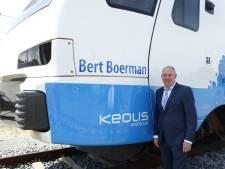 Gedeputeerde Boerman laat naam van Keolis-trein halen na gesjoemel met bussen