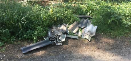 Asbest gedumpt op 26 (!) plekken in gemeente Heumen