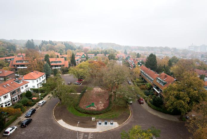 Het Goeman Borgesiusplein, een van de plekken waar de Woningbouwvereniging voor Ambtenaren te Arnhem huizen heeft.
