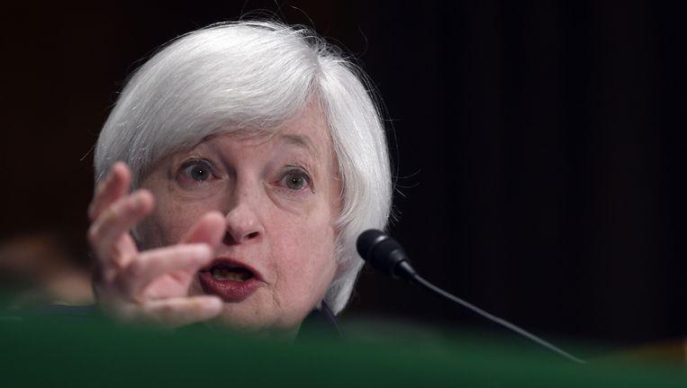 Voorzitter van de Fed, Janet Yellen. Beeld ap