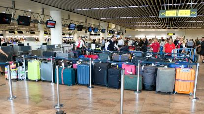 Nog altijd duizendtal achtergebleven koffers op Brussels Airport