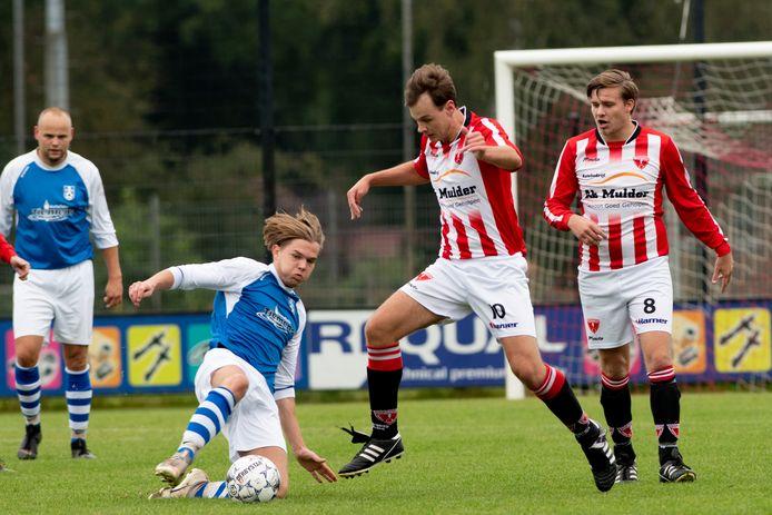 Albatross keek met de rust al tegen een 3-0 achterstand aan in de wedstrijd tegen KCVO.