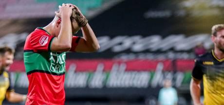 NEC laat buitenkans liggen tegen tien Roda-spelers