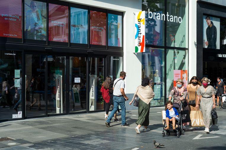 De Brantano-winkel op de Meir in Antwerpen.