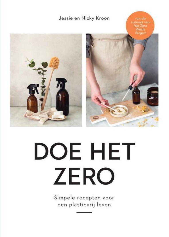 Jessie en Nicky Kroon 'Doe het zero', Uitgeverij Lev. €22,99 271 blz.  Beeld