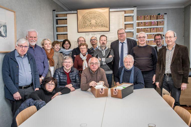 Familiekunde Vlaanderen, regio Roeselare-Leie is blij met het nieuw onderkomen dat Stad Roeselare hen verschaft.