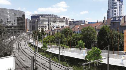 Nieuwe voetgangers- en fietsbrug gepland tussen Schuman en Luxemburg