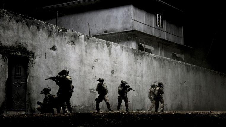 Beeld uit de Hollywood-film Zero Dark Thirty over de jacht en aanval op Osama bin Laden. Beeld filmdepot