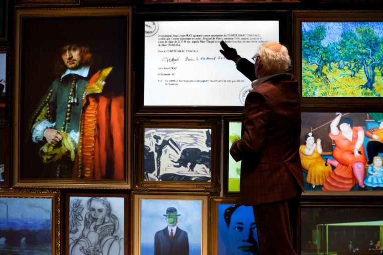 Geert Jan Jansen in True Copy van Berlin. Beeld Koen Broos