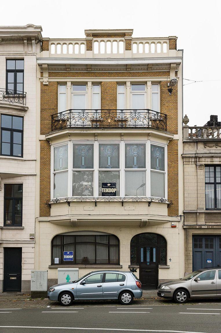 Het huis uit 1916 op de Krijgslaan 4.
