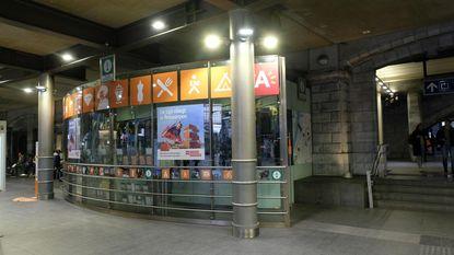 Nieuw toerismepunt in Centraal Station