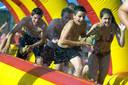 Volksspelen tijdens Dorpsfeesten in Moerstraten. Archieffoto Peter van trijen