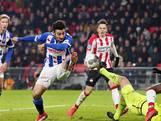 PSV loopt averij op in titelstrijd na dure rode kaart Lozano