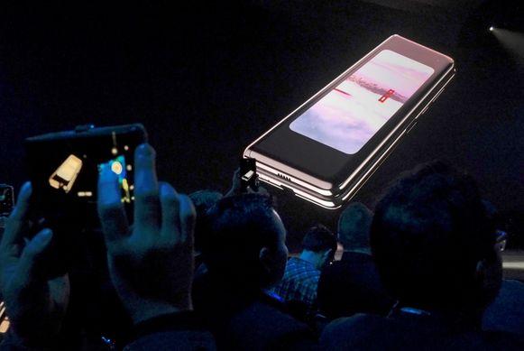 De Samsung Galaxy Fold.