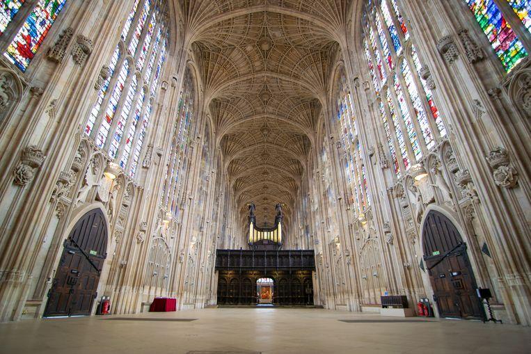 De kapel van King's College in Cambridge.  Beeld Benjamin Sheen