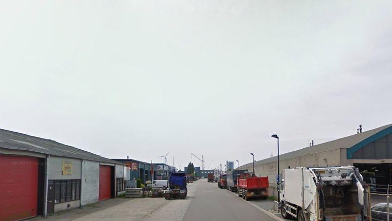 De Bolbaken in Zaandam, waar de brand heeft gewoed. Beeld Google Streetview