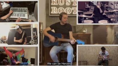 Lokale muzikanten eren helden van de zorg met unieke versie van 'Heroes'