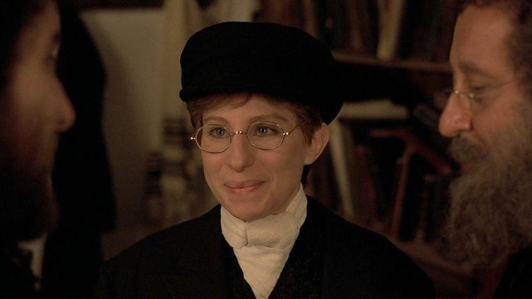 Barbra Streisand in Yentl van Barbra Streisand. Beeld