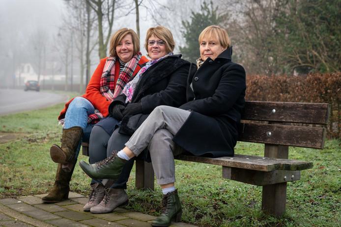 Van links naar rechts: Diny Selman, Gerry Joosten en Monique Ritzen.