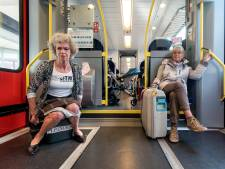 Treinen nog jaren zonder toilet, maar Greetje geeft niet op: 'Juridisch toetsen of dit wel kan'