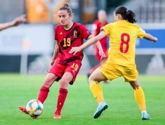 """Red Flame Chloé Vande Velde na speelminuten in Litouwen: """"Leuk, maar je wil altijd meer"""""""