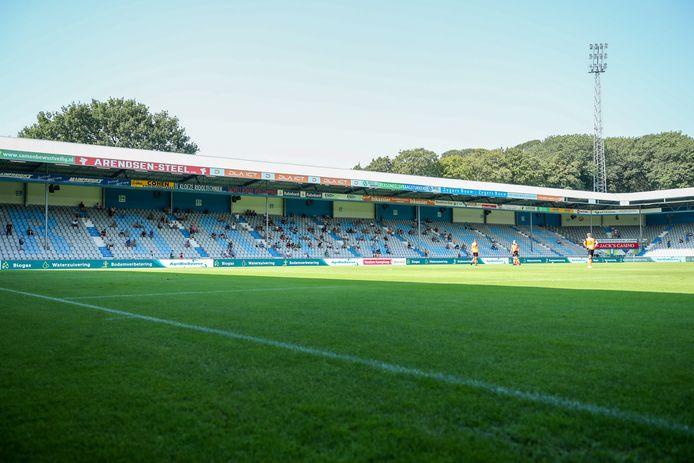 Er waren slechts 614 toeschouwers bij De Graafschap-FC Volendam.