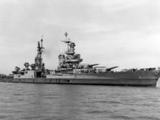 Wrak oorlogsschip dat delen eerste atoombom vervoerde gevonden