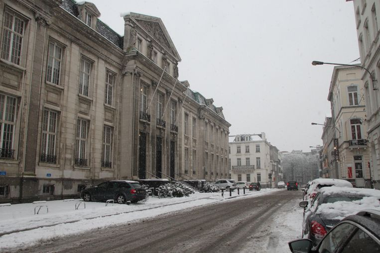 Het gerechtsgebouw in Kortrijk.